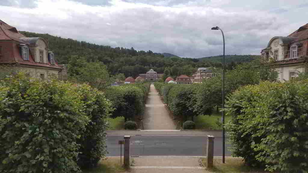 Parkanlage Staatsbad Brückenau