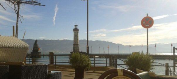 Lindauer Hafen mit Leuchtturm